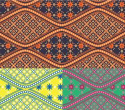 Batik Swatches
