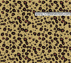 Animal Print Vector Seamless Pattern