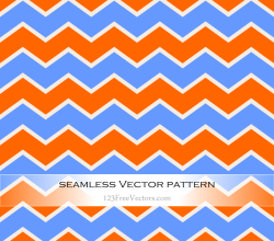 Zigzag Chevron Seamless Pattern Background