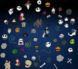 Nightmare Before Christmas Illustrator Pack