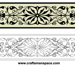 Vector Horizontal Decorative Ornaments