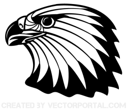 Eagle Head Vector Clip Art