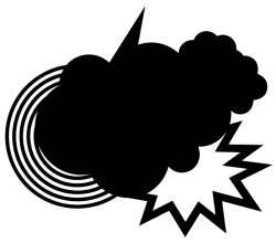 Storm Cloud Vector