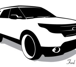 Vector Ford Explorer