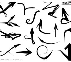 Free Arrows Vector Set 7