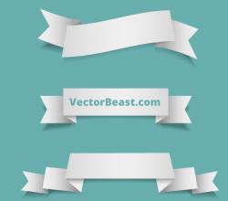Vector Ribbons Free