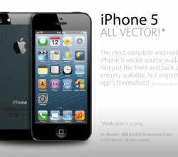 iPhone 5 Illustration