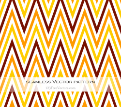 Zigzag Chevron Seamless Pattern Vector Illustration