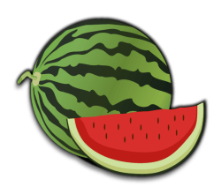 Vector Clip Art Watermelon