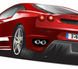 Free Ferrari Illustrated