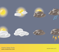 Vector Weather Icons Pack
