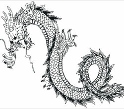 Japanese Dragon Free Vector Art