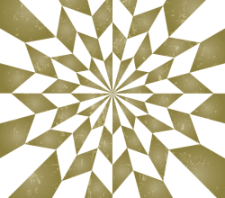 Star Optical Illusion Vintage Background Vector