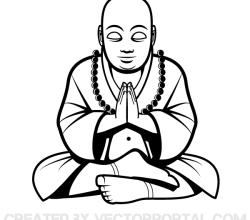 Vector Buddha Image