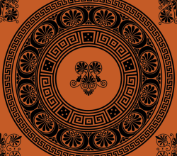 Vectors Greek Ornamental Brushes