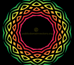 Vector Color Tribal Element