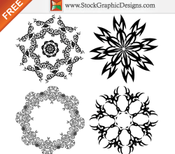 Free Vector Ornamental Design Elements