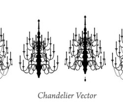 Chandelier Vector Images