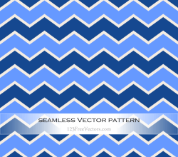 Zigzag Chevron Seamless Pattern Vector