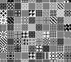 Free Monochrome Patterns For Adobe Illustrator