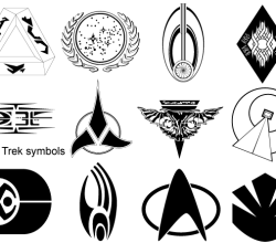 Vector Star Trek Symbols