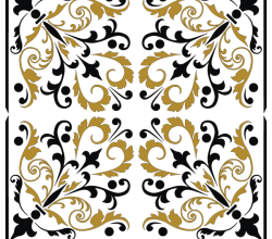 Free Square  Ornament Pattern Vector