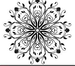 Flourish Vector Ornament Design