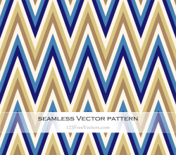 Retro Zig Zag Pattern Background