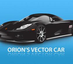Race Car Vector Free