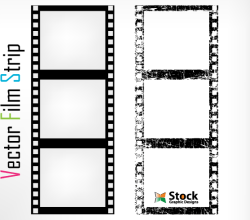 Free Film Strip Vector Art