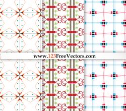 Seamless Damask Pattern Vector Graphics