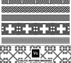 Free Vector Celtic Pattern Illustrator Brushes