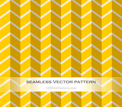 Yellow Chevron Seamless Pattern Vector