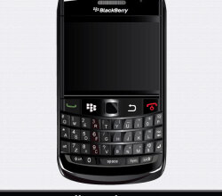 BlackBerry Bold 9700 Vector