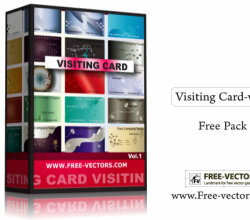 Visiting Card Free Vector Pack