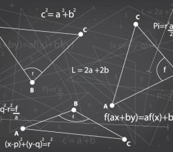 Free Mathematics Background Vector