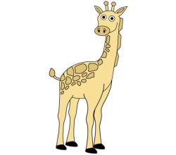Giraffe Vector Free
