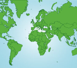 World Map Vector Eps Free