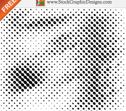 Halftone Free Vector Elements