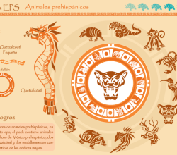 Prehispanicos Animals Vector Free