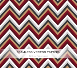 Free Vintage Chevron Pattern Vector Art