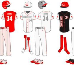 Vector Baseball Uniform Template