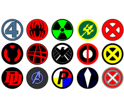 Vector Marvel Logo Design
