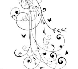 Vector Floral Design 8