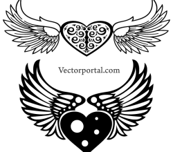 Free Winged Heart Image