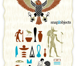 Free Ancient Egyptian Symbols Vector