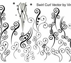 Swirl Curl Vector