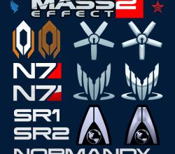 Vector Mass Effect Logo