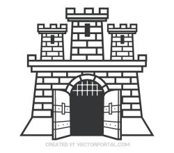 Castle Clip Art Image
