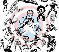 Vector Super Heroes